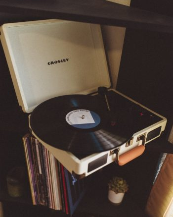 vintage vinyl platenspeler