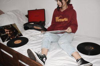 vinylplaten luisteren