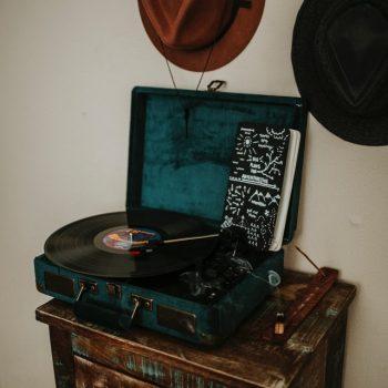 vinylplaten speler oldschool