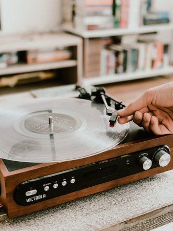 warm geluid vinylplaten